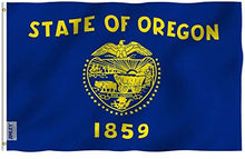 Load image into Gallery viewer, Oregon - State of Oregon Flag 3x5