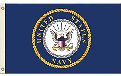 US Navy (Emblem) Flag - 3x5 FT