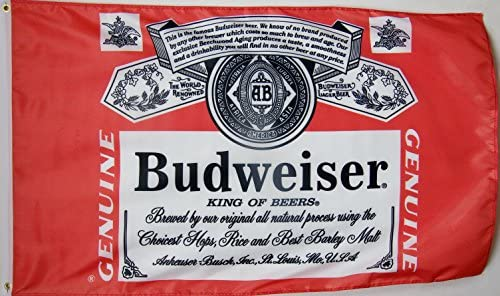 Budweiser Beer Flag