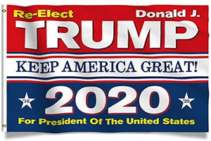 Trump Train - All Aboard - Donald Trump Flags - President 2020