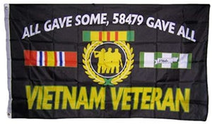 Vietnam Veteran Flag - All Gave