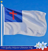 Load image into Gallery viewer, Christian Flag