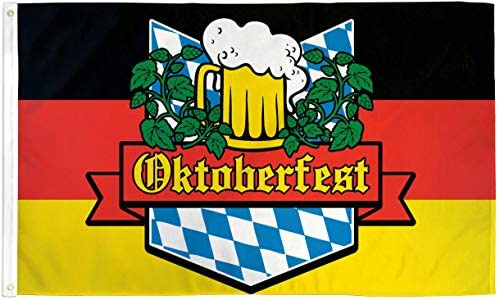 German Bavaria Oktoberfest Beer Flag