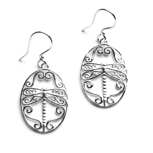 Southern Gates Dragonfly Earrings