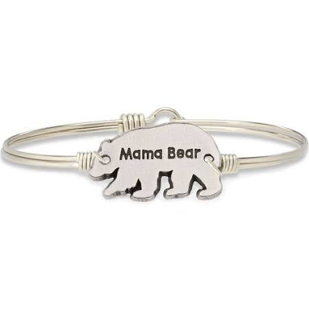 Luca + Danni-Mama Bear Bangle Bracelet