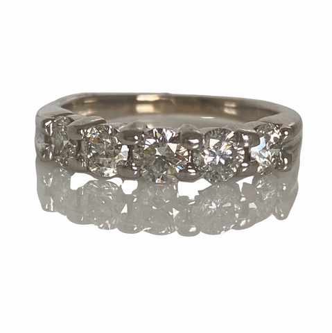 Estate: Diamond 5 Stone Band