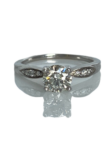 Estate: VS .65 Carat Diamond Engagement Ring