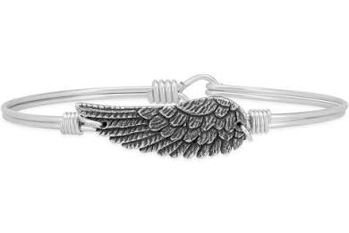 Luca + Danni-Angel Wing Bangle Bracelet