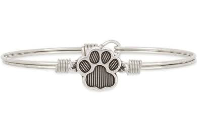 Luca + Danni-Pawprint Bangle Bracelet
