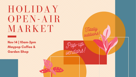 Holiday Open air market