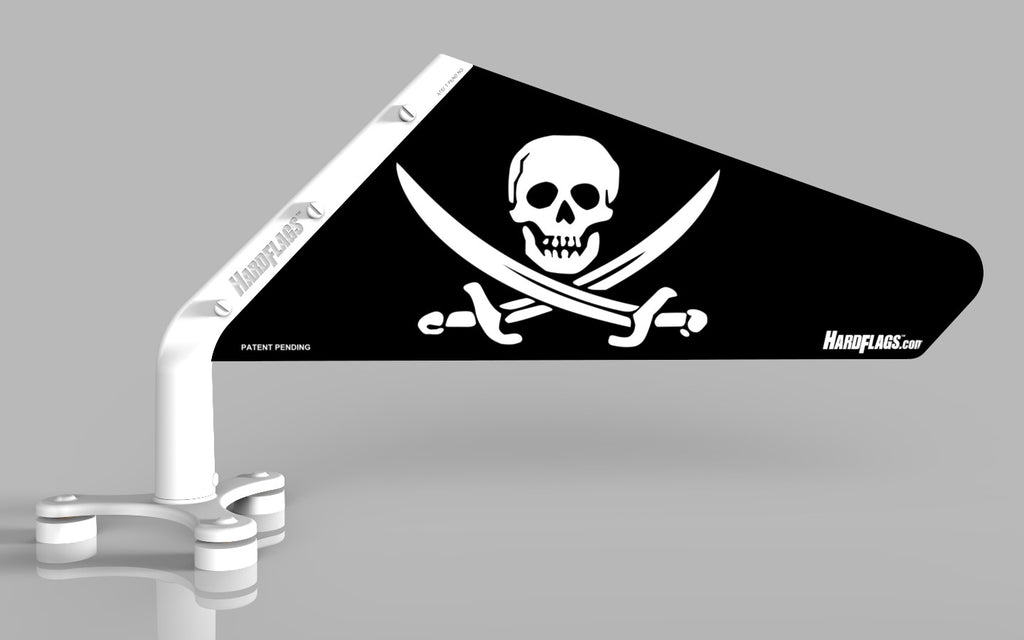 Jolly Roger Car Flag, SKU: 0022