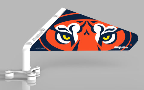 Auburn Tiger Eyes Car Flag, SKU:0032