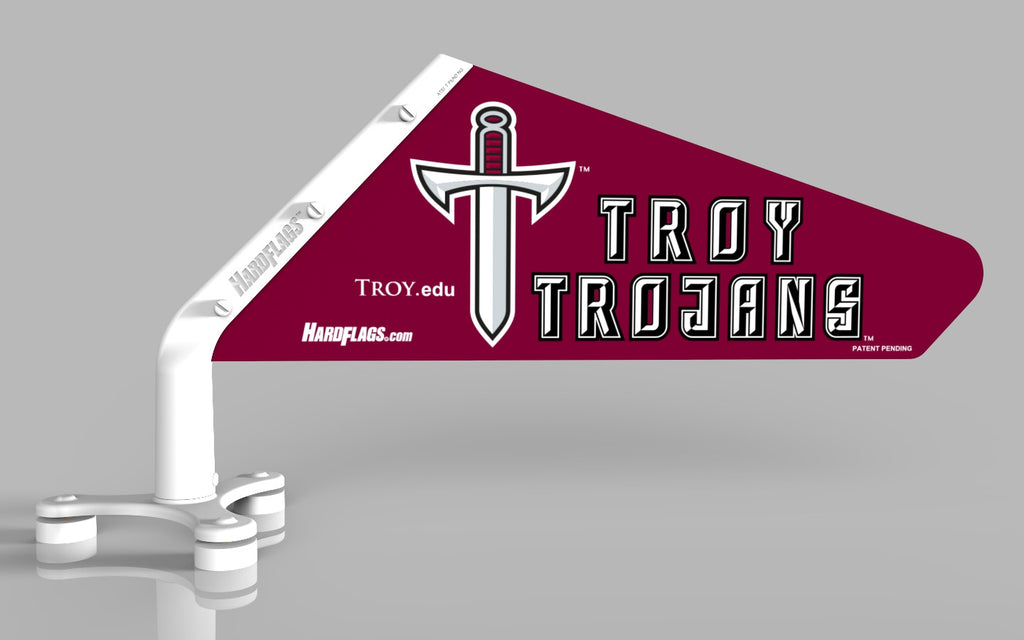 Troy University Car Flag, SKU: 0059