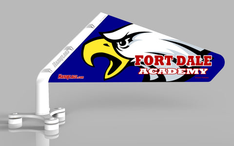 Fort Dale Academy Car Flag, SKU: 0091