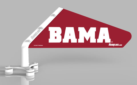 BAMA Crimson Car Flag, SKU:0103