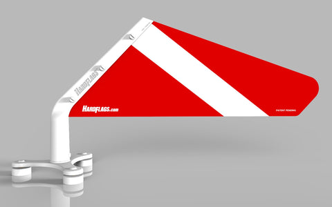 Diver Down Car Flag, SKU: 0117