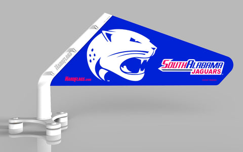 University of South Alabama Car Flag, SKU: 0119