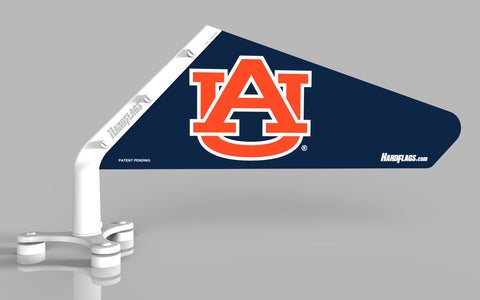 Auburn University Blue w/Orange Car Flag, SKU: 0127