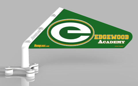 Edgewood Academy Car Flag, SKU: 0131