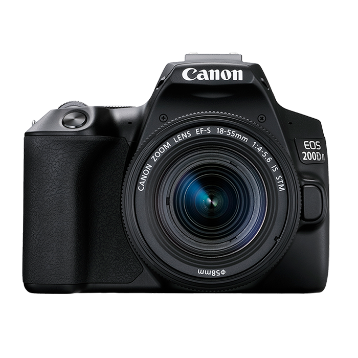 Canon EOS 200D Mark II + 18-55/4.0-5.6 IS STM