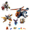LEGO Marvel Super Heroes 76144 Hulk Helicopter Drop