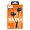 Philips BASS+ SHE4305 In-Ear Headphones with Mic