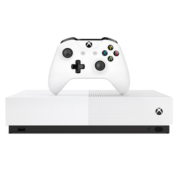 Microsoft Xbox One S 1TB All-Digital Edition Console (Disc-free Gaming)