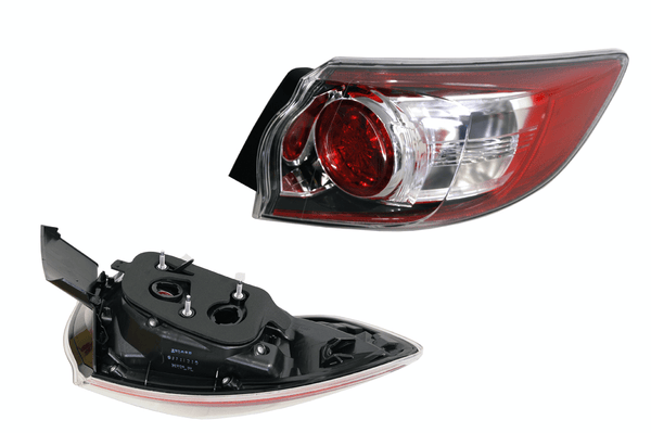 Mazda 3 BL 2009-2014 Tail Light Outer Right Hand Hatchback - All AutomotiveParts