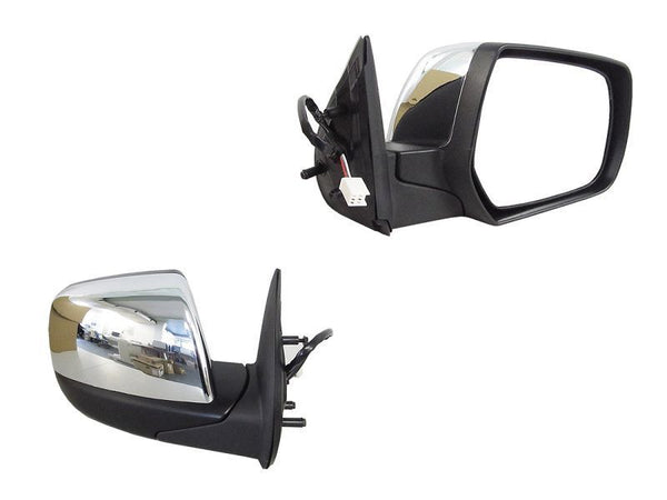 Mazda BT-50 2006-2011 Door Mirror Right Hand Chrome - All AutomotiveParts