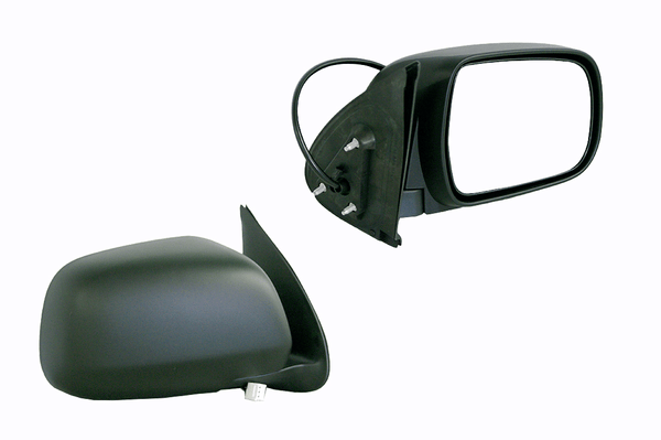 Toyota Hilux 2005-2011 Door Mirror Right Hand Black - All AutomotiveParts