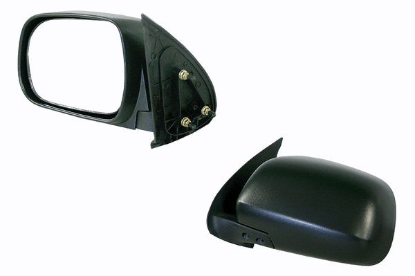 Toyota Hilux 2005-2011 Door Mirror Left Hand Black - All AutomotiveParts