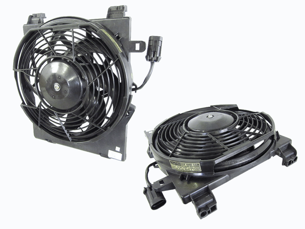 Holden Barina XC 2001-2005 A/C Condenser Fan