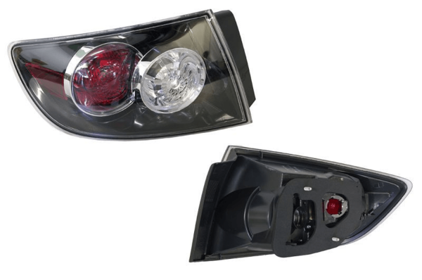Mazda 3 BK 2006-2008 Tail Light Outer Left Hand Sedan - All AutomotiveParts
