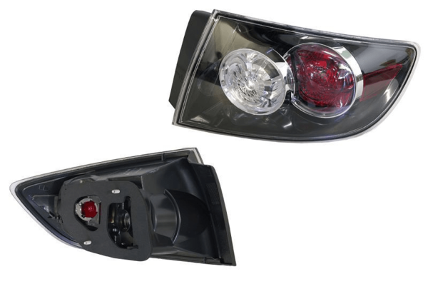 Mazda 3 BK 2006-2008 Tail Light Outer Right Hand Sedan - All AutomotiveParts