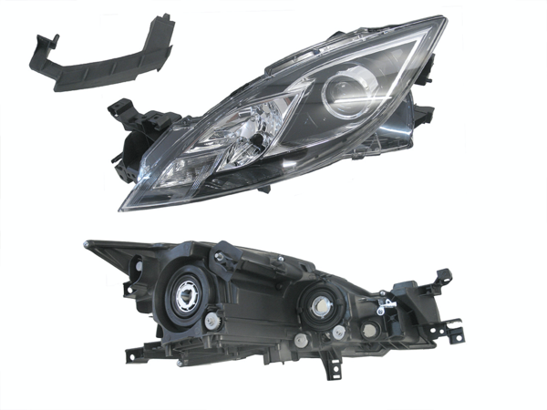 Mazda 6 GH 2007-2012 Head Light Left Hand - All AutomotiveParts