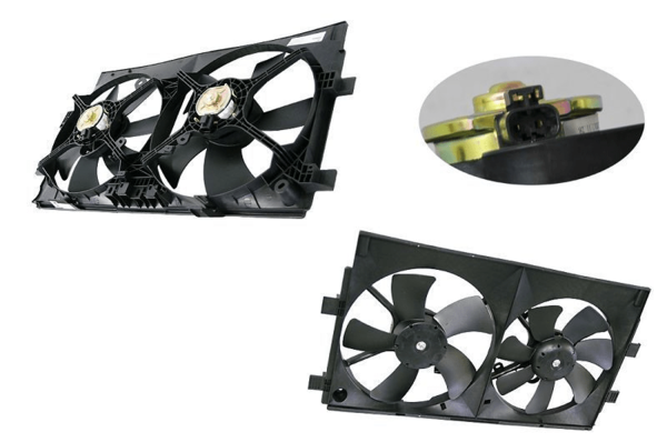 Mitsubishi Lancer CJ/CF 2007- Onwards Dual Radiator Fan - All AutomotiveParts