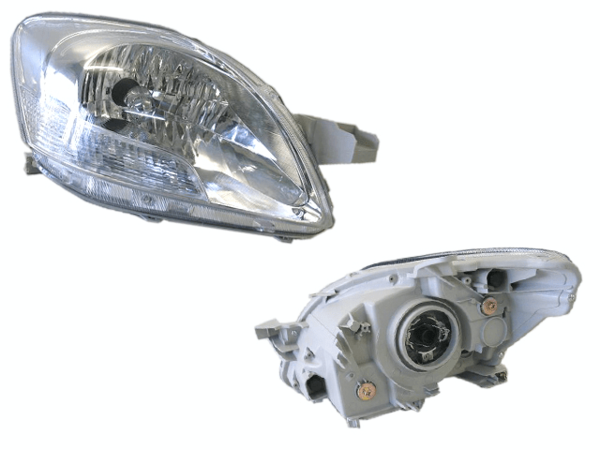 Toyota Yaris NCP93 2006- 2016 Headlight Right Hand - All AutomotiveParts