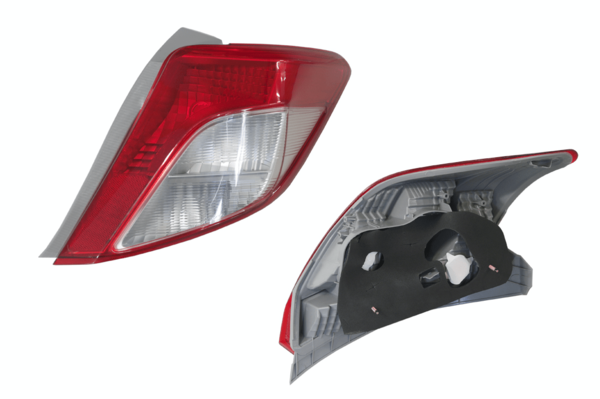 Toyota Yaris NCP130 2011- 2014 Tail Light Right Hand - All AutomotiveParts