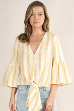 Load image into Gallery viewer, The Hailey top-yellow