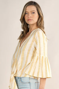 The Hailey top-yellow