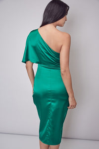 The Carry dress-emerald