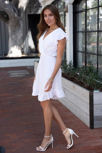 The Marcia dress- white