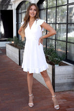 Load image into Gallery viewer, The Marcia dress- white