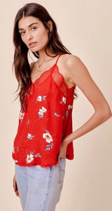 The Cami top - red