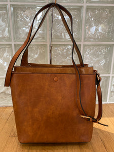 The Deluxe Double Style Bag (Brown)