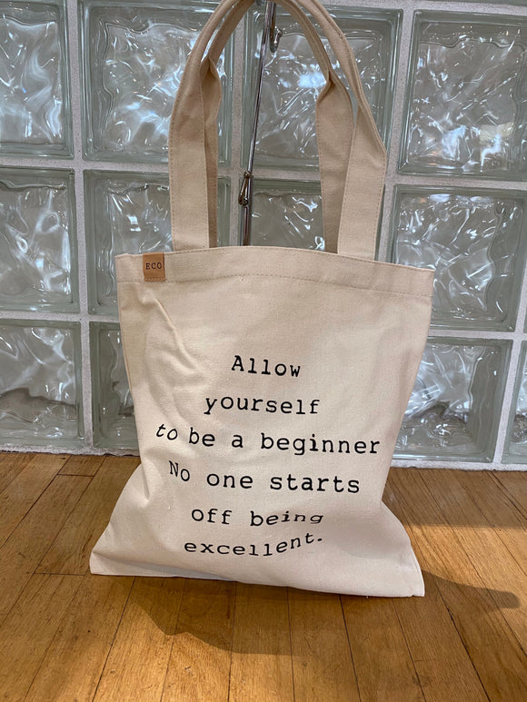 Allow Yourself Tote