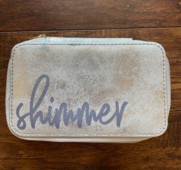 Shimmer Jewelry Case