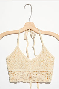 Free People  Pretty Crochet Bralette 2 colors