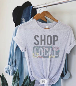 Shop Local Graphic Tee