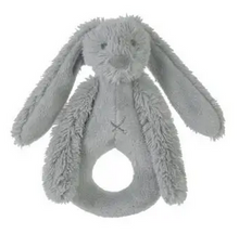 Load image into Gallery viewer, Bunny Rattle - Richie Rabbit Rattle from Happy Horse Available in Pink, Blue, Gray & Ivory